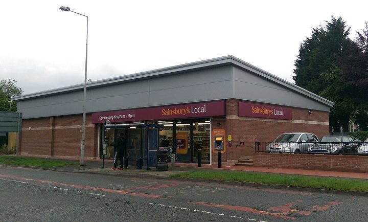 The new Sainsbury's store in Tanterton Hall Road