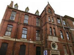 St Joseph's Orphanage stands empty in Mount Street Pic: Gill Lawson