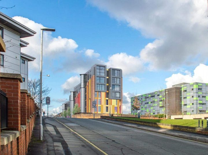 The new flats would be seven storeys high at their peak