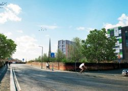 How the view to St Walburge's Church would look