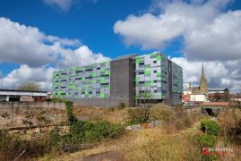 The university is ploughing money into its Preston campus Pic: Paul Melling