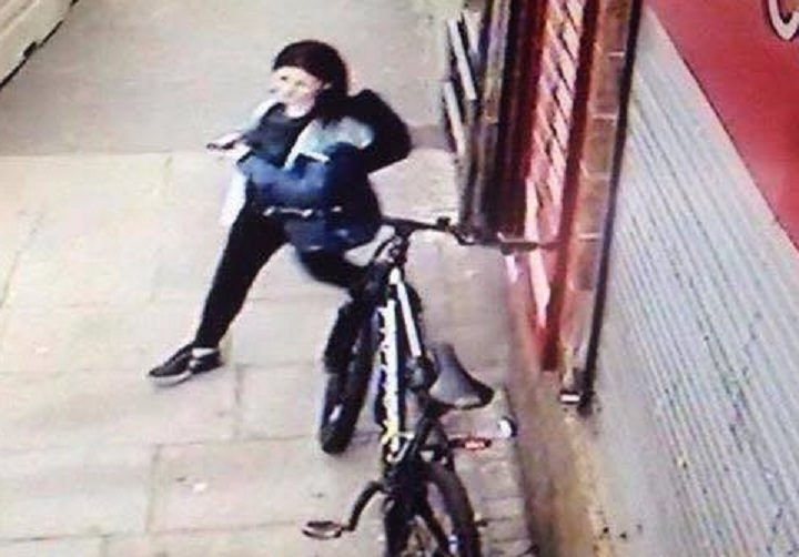 A picture of a woman released in connection with the incident