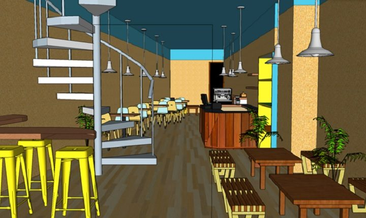 A view of how the restaurant may look