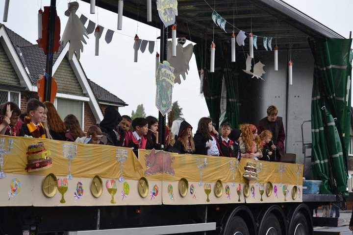 A Harry Potter themed float Pic: Lancashire Journal