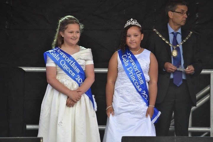 Gala queen and princess Pic: Lancashire Journal