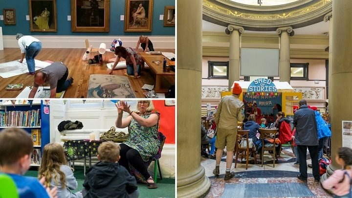 Some of the recent activities in the Harris Museum and Art Gallery