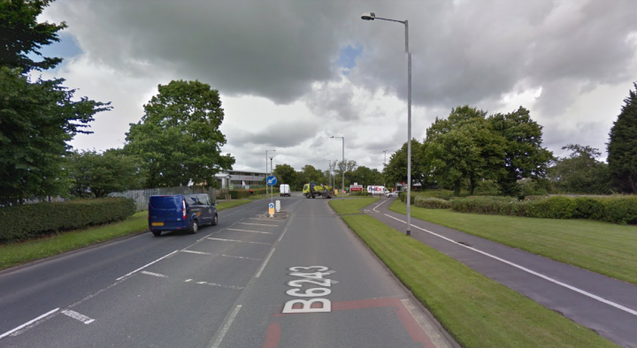 The car was found in Longridge Road Pic: Google