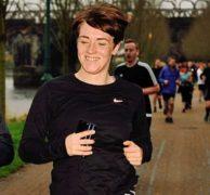 Lyndsey is a keen runner