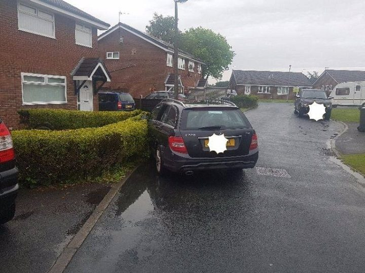 Preston Police pursued the vehicle in Fulwood Pic: Preston Police