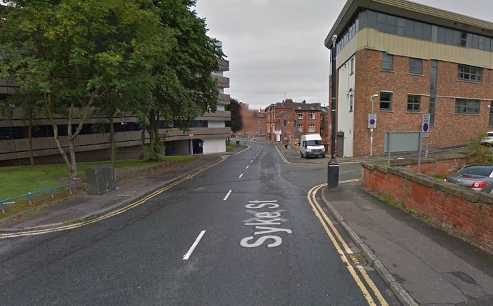 Syke Street where the incident took place Pic: Google
