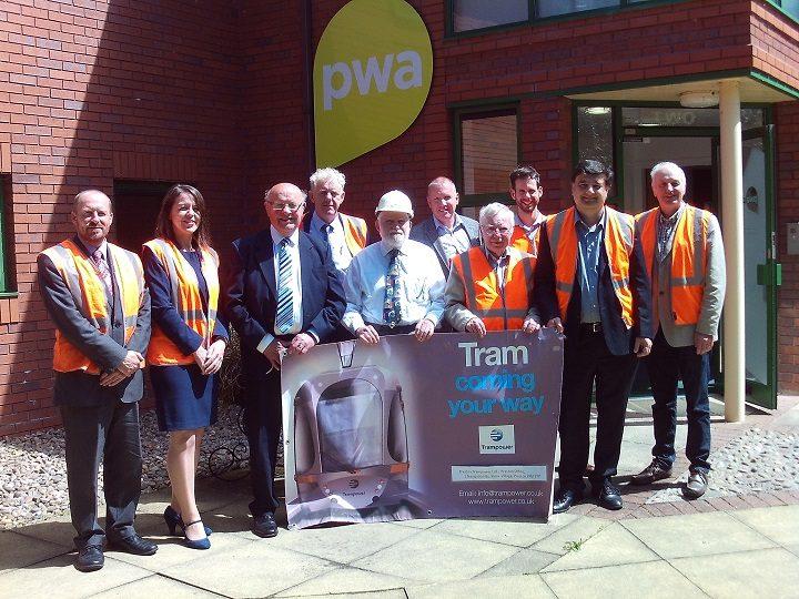 The Preston trampower team