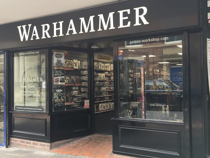 Warhammer is the new shop at St George's