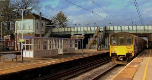 The incident happened close to Leyland Station Pic: calflier001
