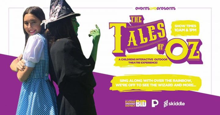 A poster for the Tales of Oz