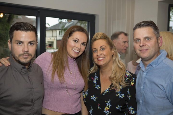 At the opening of Lime Bar in Liverpool Road Pic: Andrew Livesey