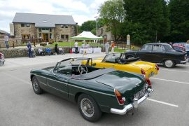 Classics cars on display at The Mill at St Catherine's Hospice Pic: Gary Poole