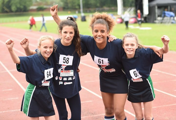The in form Broughton girls athletics team