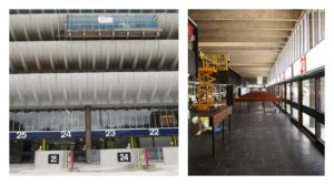Work on the exterior and interior of Preston Bus Station Pic: Lancashire City Deal