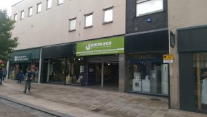 Emmaus Preston has taken on the former HMV store