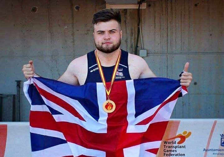 Gary Still competed for Team GB in Malaga