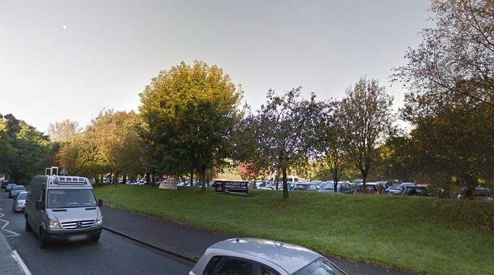 The car park, off Lightfoot Lane, would be built on Pic: Google