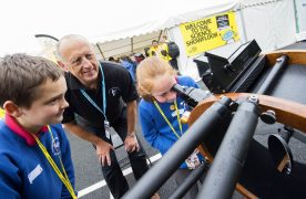 Children learn about astronomy at the Lancashire Science Festival