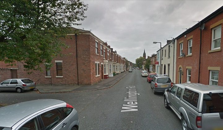 Wellington Road was closed off during the incident Pic: Google