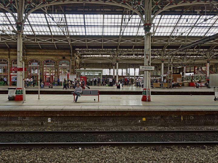 Waiting at Preston Railway Station Pic: 70023venus2009
