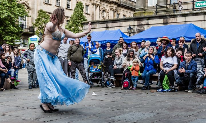 The Feast for Peace was also due to see live music and dancing Pic: Alf Myers