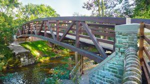 The new look Carver Bridge