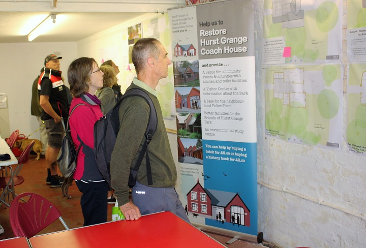 The consultation meetings were well attended - showing all the options for the building