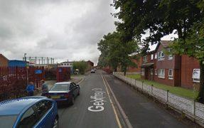 Geoffrey Street has seen door-to-door enquiries by police Pic: Google