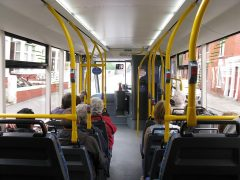The incident took place on a Preston Bus service