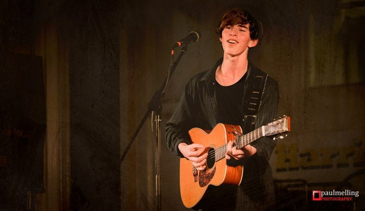 Joel Dolman performing at Harris Live Pic: Paul Melling