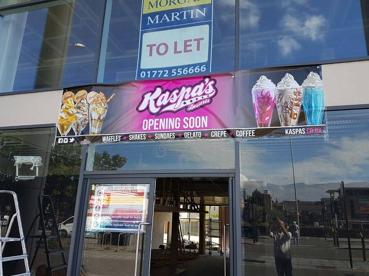 Kaspa's has taken one of the city centre units under the hotel
