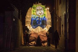 The landscape giant is one of those to feature in the procession