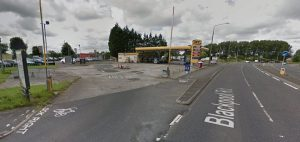 The Lea Gate filling station is in line for a major redevelopment Pic: Google