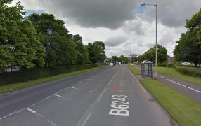 Longridge Road was closed for four hours by police Pic: Google