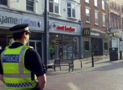 McDonalds in Preston city centre