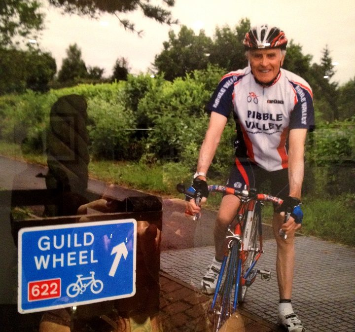 Peter out on the Guild Wheel
