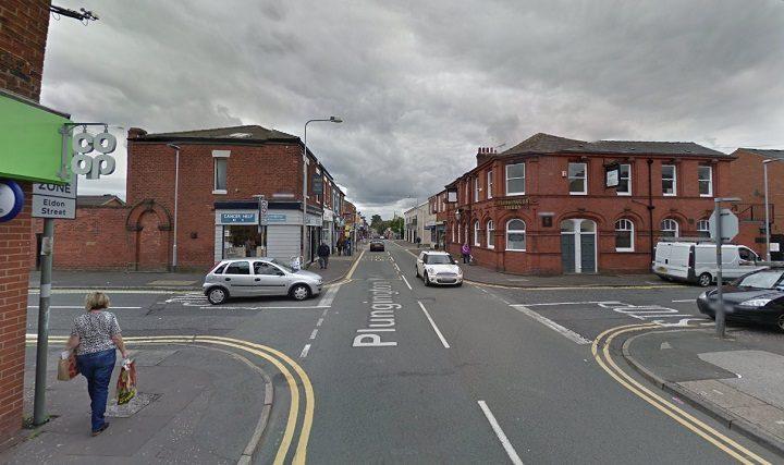 The junction near the Co-Op and former Plungington Tavern is shut Pic: Google