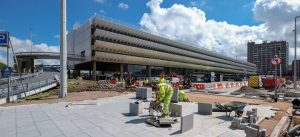 Preston Bus Station works continue Pic: Paul Melling