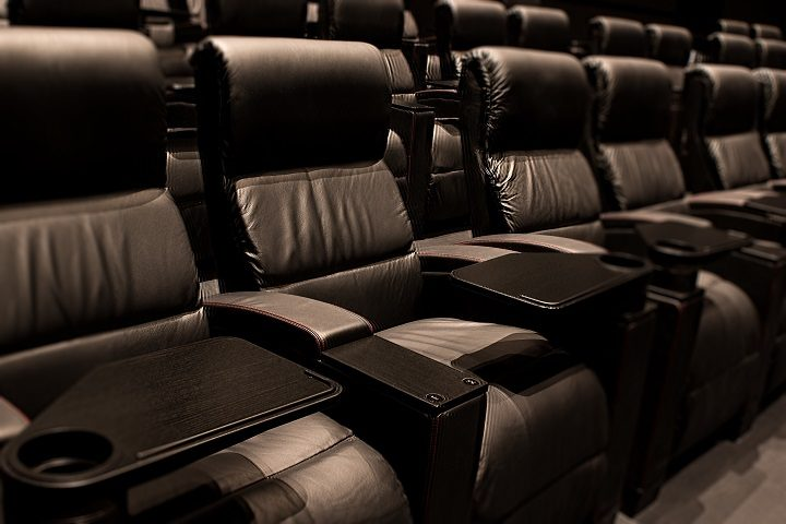 Every seat in the cinema is now a recliner