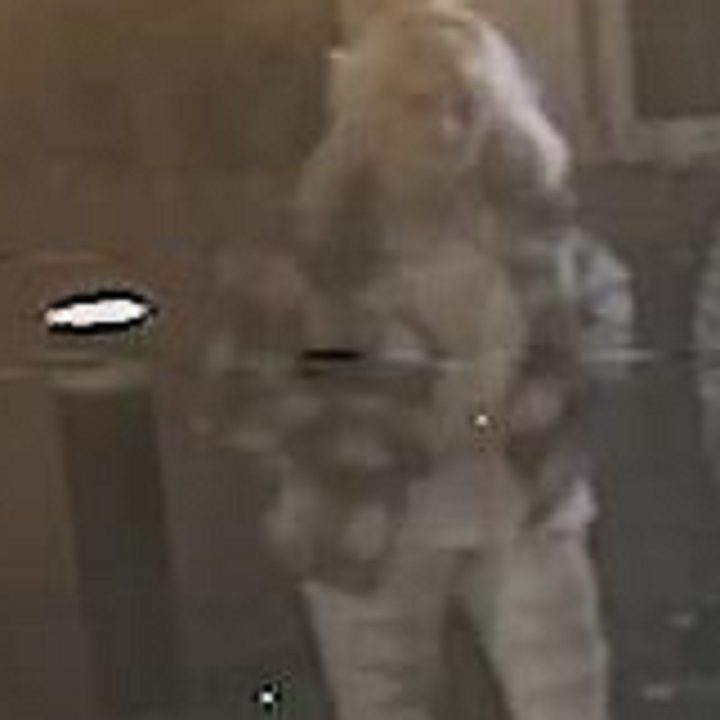 CCTV picture released of a woman police want to speak to