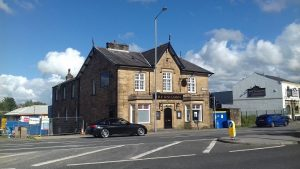 The Unicorn pub closed up