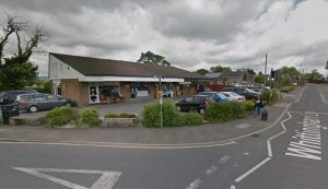 The parade of shops in Whittingham lane would see the antiques shop replaced Pic: Google