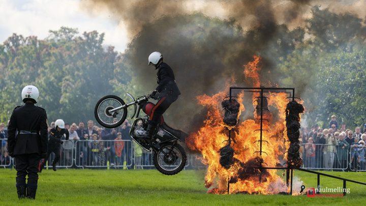 Flaming jumps!