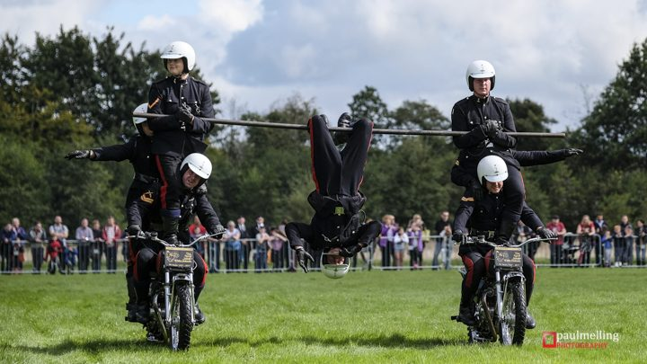 The White Helmets riding at last year's military show