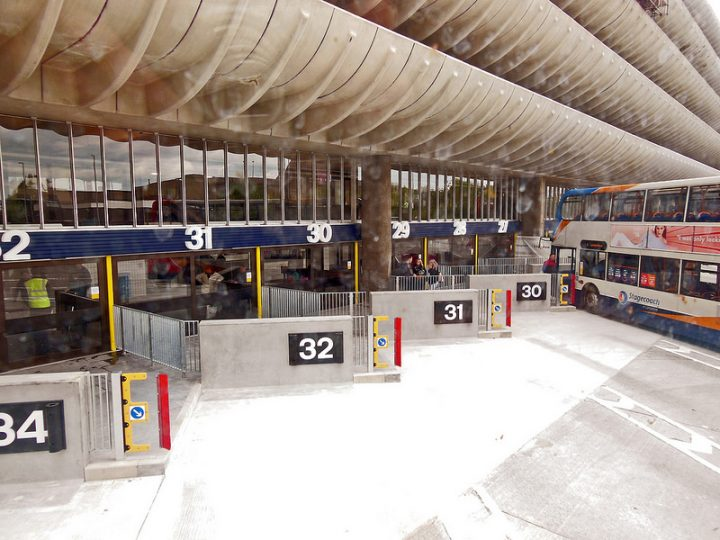 The renovation work on Preston Bus Station Pic: 70023venus2009