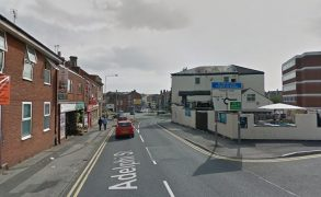 The beer garden of the Adelphi pub was full during the incident Pic: Google